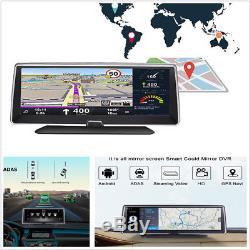 7.84FHD 1080P 4G ADAS Car DVR Vehicle Dashboard Recorder BT WIFI FM Transmitter