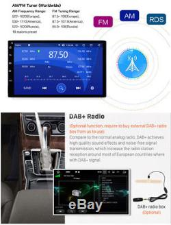 7'' Android 8 0 Octa Core 2DIN Car Radio Stereo GPS Navi 4G