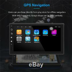 7 Android 8.1 32GB 8 Core Single Din Car Radio Stereo GPS BT USB DAB RDS Wifi