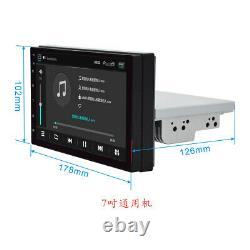 7 Android 9.1 GPS Navigation Car Radio Stereo Bluetooth WIFI Touch Screen 1DIN