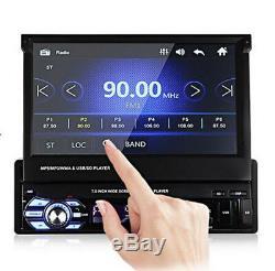 7'' Car MP5 MP3 Player Bluetooth Handfree FM Radio Reverse Vedio Multi-Language