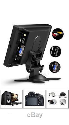 7 HD TFT HD LCD Screen Display Monitor Two Way Vedio for CCTV Computer Car DVR