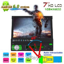 7 MP5 Player Android 6.0 Retractable Screen 3G WiFi AM FM RDS Radio Function