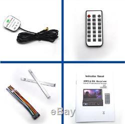 7 Touch Screen Singel Car MP5 Player Radio Stereo GPS Sat Nav 8G Map Card