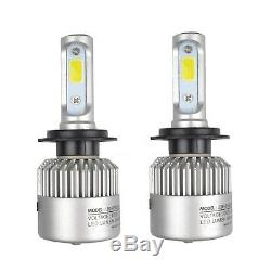 72W H7 COB LED Headlight Dipped Beam Kit Replacement For Vauxhall Astra Insignia