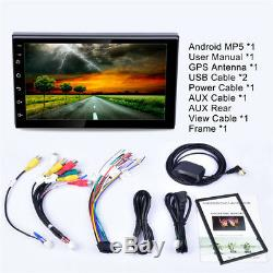 7Quad Core Android 8.1 WIFI Bluetooth 2DIN Car FM Radio Stereo MP5 GPS Player