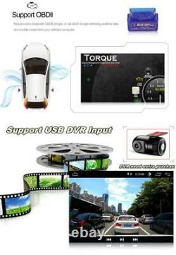 8 in Car Stereo Radio Android 8.1 Quad-Core 16GB GPS WiFi Mirror Link Adjustable