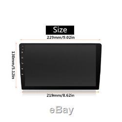 9 2 Din Ultra-thin Android 8.1 1080P Octa-Core Car Stereo Radio GPS Wifi 4G DAB