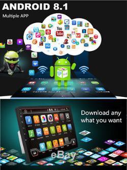 9 2DIN Android 8.1 Quad-core RAM 2GB ROM 32GB Car Stereo Radio GPS Wifi 3G4G BT