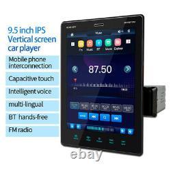 9.5in Bluetooth Car Stereo Radio MP5 Player Head Unit FM/USB/AUX/Mirror Link