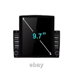 9.7'' Android 9.1 Car Stereo Radio GPS MP5 Multimedia Player Wifi Hotspot 1 DIN