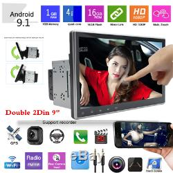 9 Android 9.1 Double 2Din Car Bluetooth Stereo Radio MP5 Player GPS Navigator