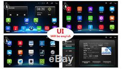 9 Touch Android 6.0 2 Din Quad-Core Car Stereo Radio GPS Wifi DAB Mirror Link