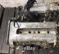 99 02 Nissan Primera P11 2.0 16v Petrol 140bhp 67k Sr20e Engine Ref Gt1 #2970