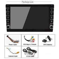 9in 1Din Android 8.1 Car GPS SAT NAV Bluetooth Stereo FM Radio Wifi MPlayer +Cam