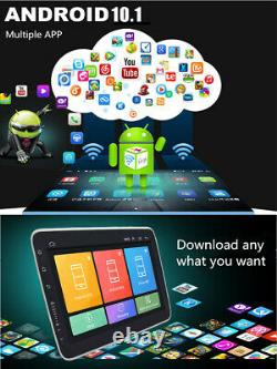 9in Android 10.1 Quad Core GPS Navigation Car Stereo MP5 Player Single DIN 2+32G