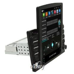Adjustable 1 DIN Android 8.1 10.1'' Car Stereo Radio MP5 Player GPS Wifi 2G+32G