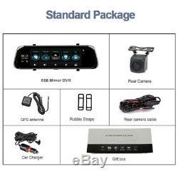 Android 10 Car DVR Dual Full HD Camera Dash Cam Video Recorder Bluetooth Wifi4G