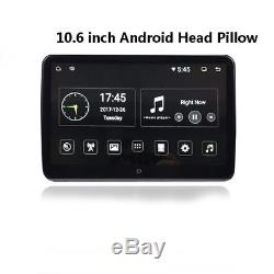 Android 6.0 10.6 Touch Car Headrest Monitor USB/HDMI/FM Bluetooth/Mirror Link