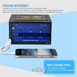 Android 6.0 Car Stereo GPS Player 7 Radio Quad Core in dash 2-Din DVD Player