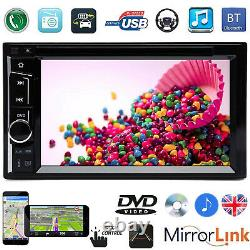Android 6.2 Inch Car Stereo Radio Double Din DVD/CD Player Unit USB/SD Receiver