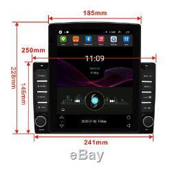 Android 8.1 1Din 10.1In Car Stereo Radio Sat Nav GPS WIFI MP5 Player&Rear Camera