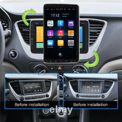 Android 9.0 1DIN 10.1in GPS SAT NAV Car Stereo Bluetooth WiFi Radio FM 2+32GB