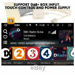Android 9.0 Car Radio DAB+DVD GPS SAT Nav 2 DIN for Nissan Almera Navara Qashqai