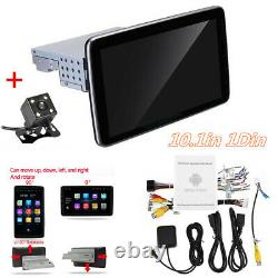 Android 9.1 10.1in 1Din Car MP5 Player Stereo FM Radio Bluetooth WIFI GPS Camera