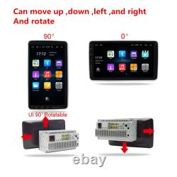 Android 9.1 Radio Stereo GPS WiFi Touch Screen 10.1in 2Din Car Multimedia Player