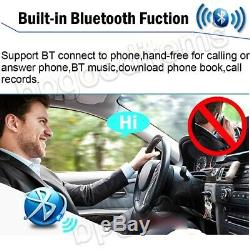 Android Double 2Din 7 Car MP5 Player Touch Stereo Radio WiFi GPS Phone Link+Cam