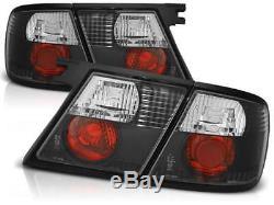 Black clear finish tail rear lights for Nissan Primera P11 Hatchback 96-98