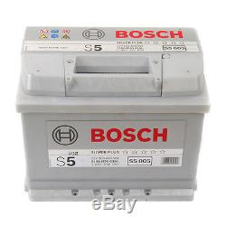 Bosch Car Battery 12V 63Ah Type 027 610CCA 5 Years Wty Sealed OEM Replacement