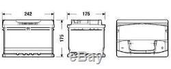 Bosch S5004 S5 075 Car Battery 5 Years Warranty 61Ah 600cca 12V Electrical