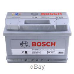 Bosch S5007 S5 100 Car Battery 5 Years Warranty 74Ah 750cca 12V Electrical