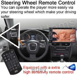 Car Radio Stereo MP4 DVD Player Bluetooth FM AUX USB Mirror-GPS Head Unit+Camera
