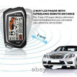 Car Remote Keyless Entry Central Door Locking Trunk Release Kit Alarm System