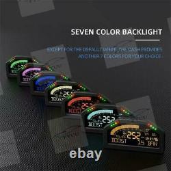 DO904 Sinco Tech Dashboard Race Display OBDll Bluetooth Gauge Multicolor Screen