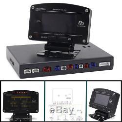 DO907 Car Race Dash Dashboard Display Gauge Meter FULL SENSOR KIT 11 In 1