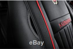 Deluxe Edition Full Set Car Interior Seat Cover Leather Seat Cushions withPillows