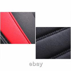 Deluxe Edition Leather 5D Surround Car Seat Cover Cushions Protectors+Headrests