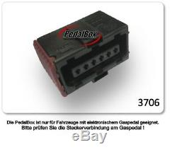 Dte System Pedalbox 3S for Nissan Navara D40 since 2004 2.5L DCI R4 106KW Gasped