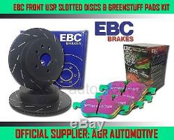 EBC FRONT USR DISCS GREENSTUFF PADS 280mm FOR NISSAN PRIMERA 2.0 GT P11 1997-99