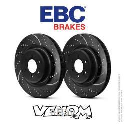 EBC GD Front Brake Discs 280mm for Nissan Primera 2.0 GT (P11) 99-2002 GD969