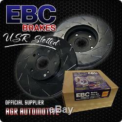 Ebc Usr Slotted Front Discs Usr969 For Nissan Primera 2.0 Gt 1998-02