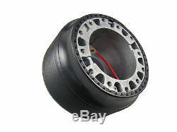 F2 BLACK Sports Steering Wheel + Boss Kit for NISSAN 003