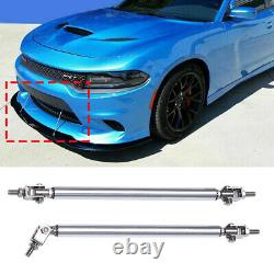 For E90 E91 E92 E93 M3 Front Bumper Lip Spoiler Splitter/Side Skirt/Strut Rods