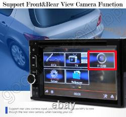 For Ford Transit/Galaxy Double Din Car Stereo CD DVD Mirror Link For GPS Radio