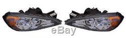 For Nissan Primera 1999-2002 Chrome Front Headlight Headlamp Pair Left & Right