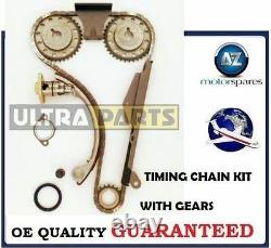 For Nissan Primera 2.0 Dohc 1990-on New Timing Chain Kit With Gears Complete